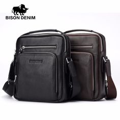 Cheap genuine leather men bag, Buy Quality leather man bags directly from China shoulder bag men Suppliers: BISON DENIM 2017 Genuine Leather Men Bags Ipad Handbags Male Messenger Bag Man Crossbody Shoulder Bag Men's Travel Bags 2333 Mens Travel Bag, Travel Bags, Crossbody Shoulder Bag, Crossbody Bag, Messenger Bag Men, Christmas Bags, Cow Leather, Cross Body Handbags, Bison