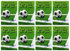 Schön Soccer Valentine Cards Kids Sports Boys Girls Printable Classroom PDF |  Boys, Valentine Cards And Football