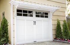 IMG_7813 | Garage door design, Rustic pergola, House exterior
