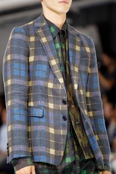 Dries Van Noten Spring 2013 Menswear Collection Slideshow on Style.com