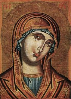 A Greek icon on Mary