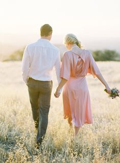 Love this set of photos! Also, I love that the couple is barefoot in some of the shots.