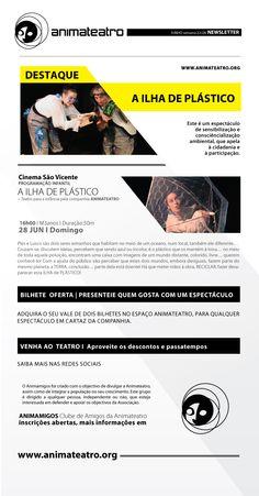 Última oportunidade para ver A ILHA DE PLÁSTICO, este domingo no auditório Cinema São Vicente, pelas 16H. a não perder!