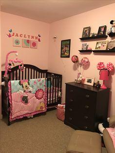 Minnie Mouse Nursery Nurseries Babies Stuff Rooms Baby Room Bedroom