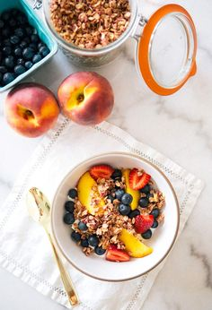 Raspberry granola (vegan + gluten free)