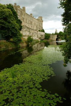 Warwick Castle in the UK.. Yes if anyone gets the chance a must see..  and a great day out..