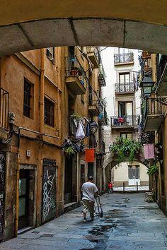 Barcelona Barri Gótic Catalonia