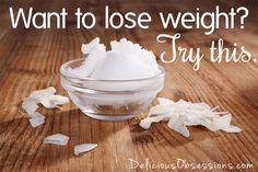 How Coconut Oil Can Help You Lose Weight // deliciousobsessions.com #coconutoil #weightloss #gettinghealthy