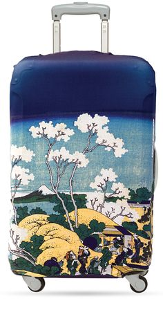 LOQI - Luggage Cover - Museum Collection - Hokusai - Fuji from Gotenyama