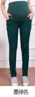 Winter New Pregnant Women Prop Belly Pants Pencil Pants Leggings Pants Large Size Solidcolor Fashion Maternity Pants