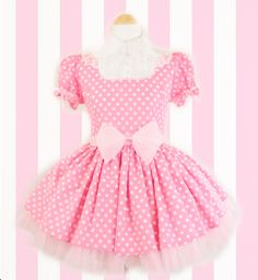 Kawaii short pink dress