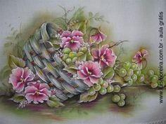 pintura em tecido pinterest - Pesquisa Google
