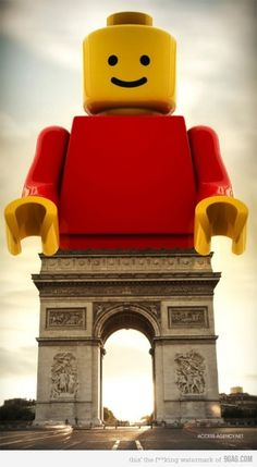 You will never see the Arc de Triomphe the same way again