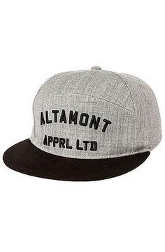 The Altamont Qualifier Snapback Hat Cap in Heather Grey Wool Hat NWT #Altamont #snapback #wool #swag
