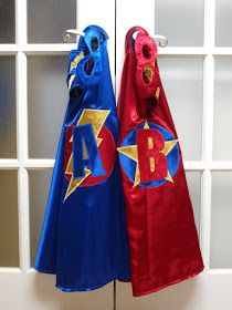 KR Finger Puppets by Joanne Rich: DIY Superhero Cape, Mask, and Cuff Set