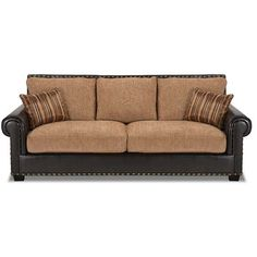 American Furniture Warehouse Virtual Jamison 2 Tone Sofa Dining