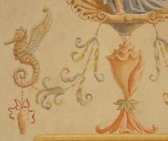 Detail of Decorative Panel (sample) by Jeff Huckaby