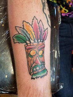 Aku Aku by Midwest Rick- Heartland Tattoo- Overland MO