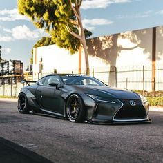 Liberty Walk Lexus « beautiful On I love to ski and drive fast cars and the thrill of exciting things. Lexus Lc, Lexus Cars, Jdm Cars, Dream Car Garage, My Dream Car, Dream Cars, Lexus Lineup, Liberty Walk Cars, Car Headlights