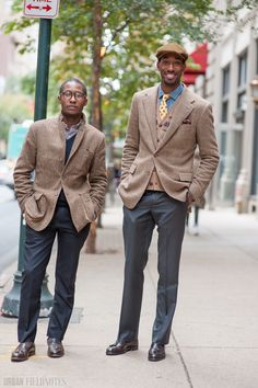 Ralph Lauren - Tall guy / short guy style. photo from Urban Fieldnotes