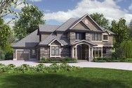 Front Rendering of Plan 2473 - The Rutledge