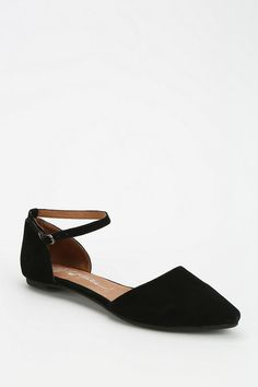 Jeffrey Campbell Lovins Ankle-Strap D'Orsay Flat - UrbN OUTFITTERS - $80 on sale