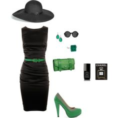 A modern Elphaba, Wickedly Chic....