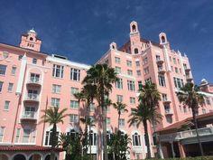 Don Cesar Hotel - St. Pete Beach, Florida; July, 2014