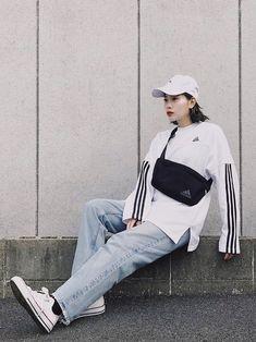 だいすきコラボ! adidas tokyo ✖︎ MOUSSY トップスとバッグがいっしょ❤︎ 使い