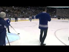 Fans a road trip by hitting rink length shot Best Fan, Toronto, Road Trip, Fans, Exercise, Celebrities, Sports, Ejercicio, Celebs