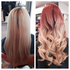 red blonde.. I could see me with this but more hot fire red