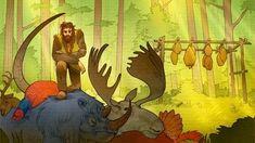 Dostal Elk Hunter | Six Ages Wiki | Fandom Interactive Stories, A Beast, Figure It Out, Elk, The Magicians, Dragon, Creatures, Fandoms, King