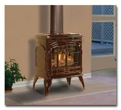 stand alone gas fireplace google search