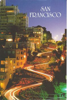 San Francisco - Lombard Street, California