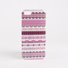 EUR € 2.75 - Pink Cross cas dur de modèle de grain pour l'iphone 5/5s, livraison gratuite pour tout gadget!