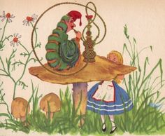 Lewis Carroll's story adapted by Marcia Martin. The illustrations are after Sir John Tenniel, drawn in color by Laszlo Matulay. Wonder Books, Inc., 1977