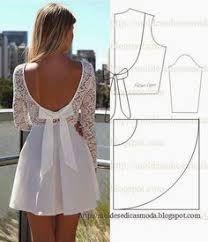 Resultado de imagen para moldes de vestidos
