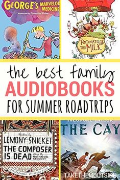 Family Audiobooks: Fun Short Stories for Your Next Road Trip - Kids Audio Books - ideas of Kids Audio Books - Best family audiobooks for summer roadtrips Audio Books For Kids, Books For Boys, Childrens Books, Kid Books, Travel With Kids, Family Travel, Best Short Stories, Reading Rainbow, Reading Resources