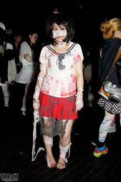 Halloween in Harajuku