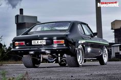Classic Car News Pics And Videos From Around The World Ford Classic Cars, Classic Sports Cars, Ford Capri 1970, Australian Muscle Cars, Twin Turbo, Car Show, Fast Cars, Sport Cars, Custom Cars