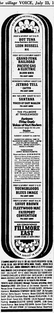 1970-07-23 Issue of Village Voice