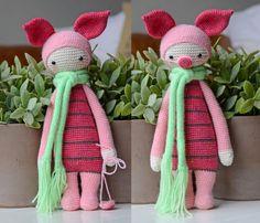 Crochet Pattern Piglet - Lalylala Modification
