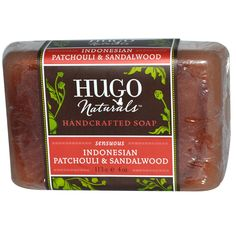Hugo Naturals, Handcrafted Soap,  Indonesian Patchouli