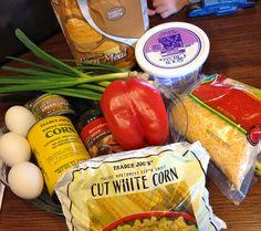 Penny's Corn Pie, for breakfast, lunch or dinner!