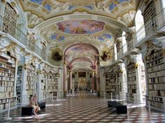 Bibliothek Stift Admont, Austria