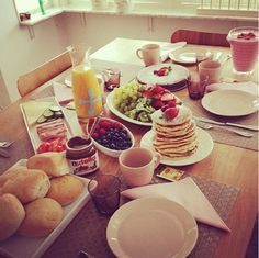 Fruktig frukost :)