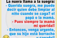 Chistes Geniales – Chistes geniales para reír hasta mas no poder. Humor, Best Funny Jokes, Immune System, Mother In Law, Mothers, Cards, Humour, Funny Photos, Funny Humor