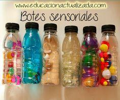 Educación Preescolar: Botes sensoriales                                                                                                                                                                                 Más
