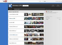 Biblioteca UPM - Youtube