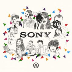 SONY-free subject-drawingstyle  populaire, ouvert à tous fanions